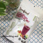 Sunfood SUPERFOODS(サンフード スーパーフーズ)オーガニック スーパーフード スムージーミックス