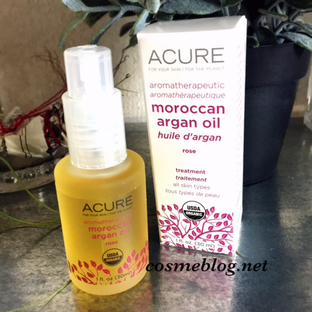 Acure Organics(アキュアオーガニクス) Aromatherapeutic Moroccan Argan Oil