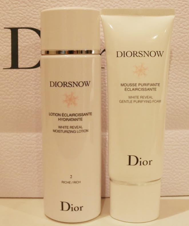 Dior洗顔 化粧水